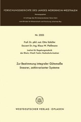 Zur Bestimmung Integraler G tema e Linearer, Zeitinvarianter Systeme