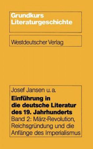 Einf hrung in Die Deutsche Literatur Des 19. Jahrhunderts
