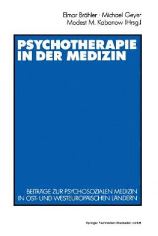 Psychotherapie in Der Medizin