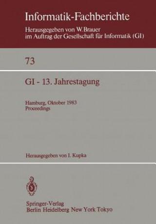GI - 13. Jahrestagung