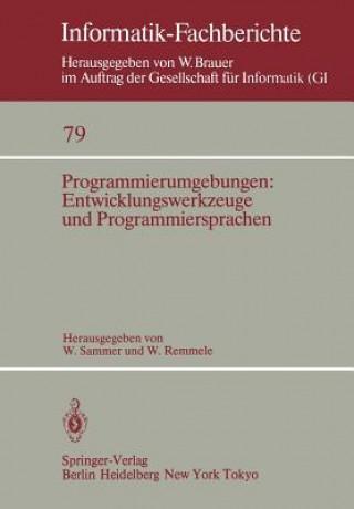 Programmierumgebungen: Entwicklungswerkzeuge und Programmiersprachen