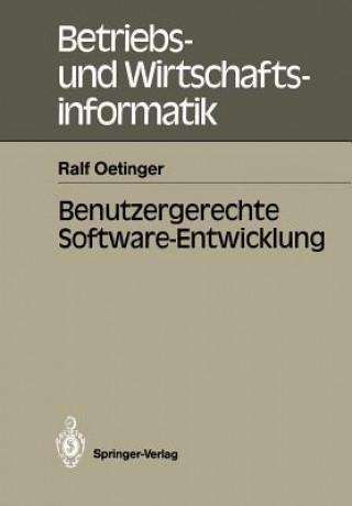 Benutzergerechte Software-Entwicklung