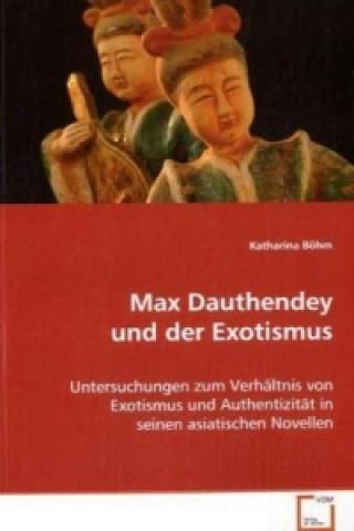 Max Dauthendey und der Exotismus