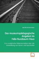 Das museumspädagogische Angebot im  Felix-Nussbaum-Haus