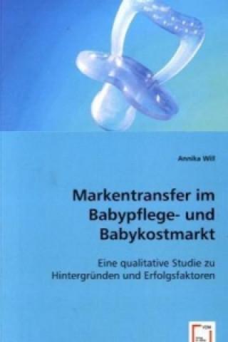 Markentransfer im Babypflege- und Babykostmarkt