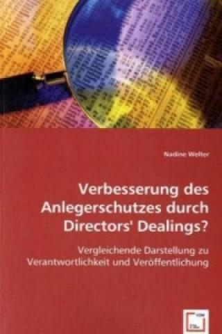 Verbesserung des Anlegerschutzes durch Directors Dealings?
