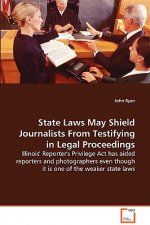 State Laws May Shield Journalists From Testifying in Legal Proceedings