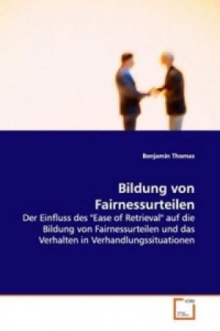 Bildung von Fairnessurteilen