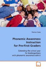 Phonemic Awareness Instruction for Pre-First Graders