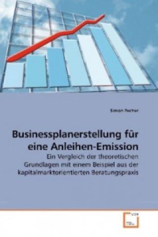 Businessplanerstellung für eine Anleihen-Emission