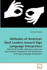 Attitudes of American Deaf Leaders toward Sign Language Interpreters