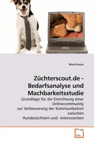 Zuchterscout.de - Bedarfsanalyse Und Machbarkeitsstudie