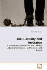 D&o Liability and Insurance