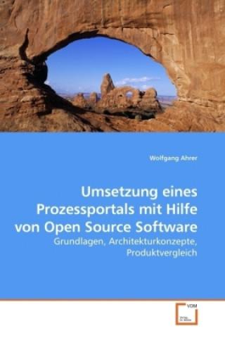 Umsetzung eines Prozessportals mit Hilfe von Open Source Software