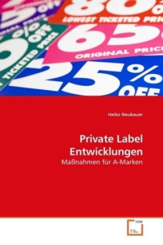 Private Label Entwicklungen