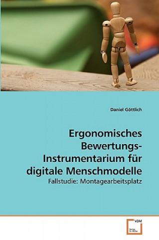 Ergonomisches Bewertungs- Instrumentarium Fur Digitale Menschmodelle