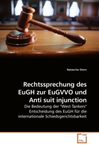 Rechtssprechung des EuGH zur EuGVVO und Anti suit injunction