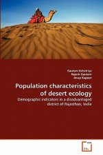 Population characteristics of desert ecology