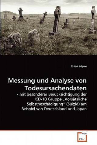 Messung Und Analyse Von Todesursachendaten