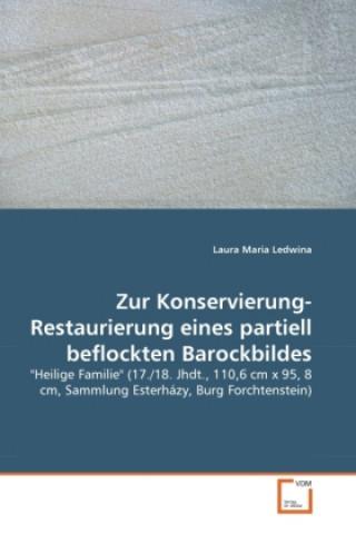 Zur Konservierung-Restaurierung eines partiell beflockten Barockbildes