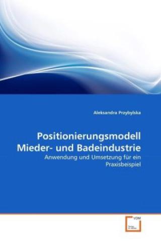 Positionierungsmodell Mieder- und Badeindustrie