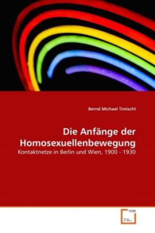 Die Anfänge der Homosexuellenbewegung