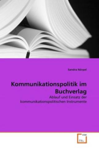 Kommunikationspolitik im Buchverlag