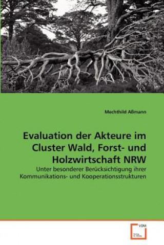 Evaluation Der Akteure Im Cluster Wald, Forst- Und Holzwirtschaft Nrw