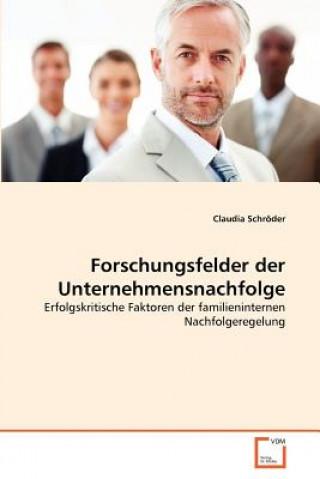 Forschungsfelder Der Unternehmensnachfolge