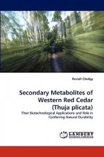 Secondary Metabolites of Western Red Cedar (Thuja plicata)