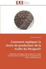 Comment Expliquer La Chute de Production de la Truffe Du P rigord?