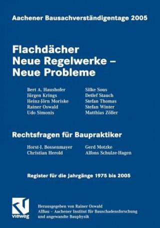 Aachener Bausachverstandigentage 2005