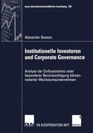 Institutionelle Investoren und Corporate Governance