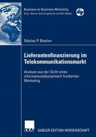 Lieferantenfinanzierung im Telekommunikationsmarkt