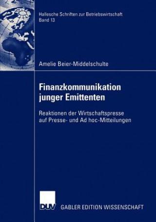 Finanzkommunikation Junger Emittenten