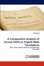 A Comparative Analysis of Formal Shifts in English Bible Translations