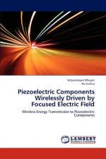 Piezoelectric Components Wirelessly Driven by Focused Electric Field