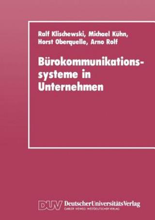 Burokommunikationssysteme in Unternehmen