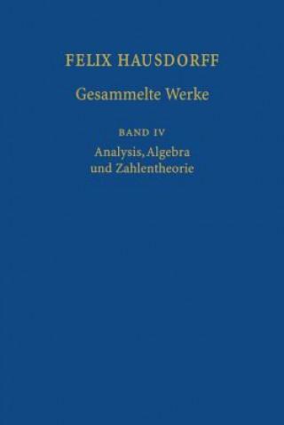 Felix Hausdorff-Gesammelte Werke