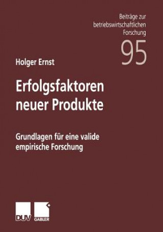 Erfolgsfaktoren Neuer Produkte