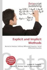 Explicit and Implicit Methods