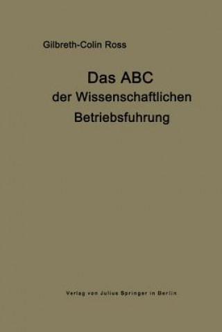 Das ABC Der Wissenschaftlichen Betriebsf hrung