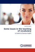 Some issues in the teaching of vocabulary