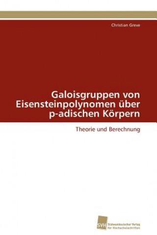 Galoisgruppen Von Eisensteinpolynomen Uber P-Adischen Korpern