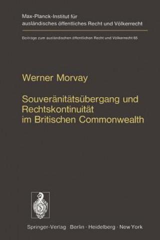 Souveranitatsubergang Und Rechtskontinuitat Im Britischen Commonwealth