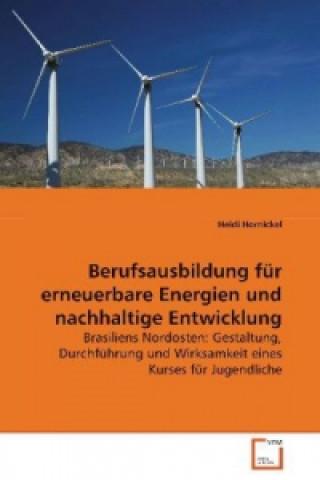Berufsausbildung für erneuerbare Energien und nachhaltige Entwicklung