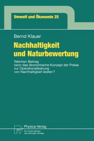 Nachhaltigkeit und Naturbewertung