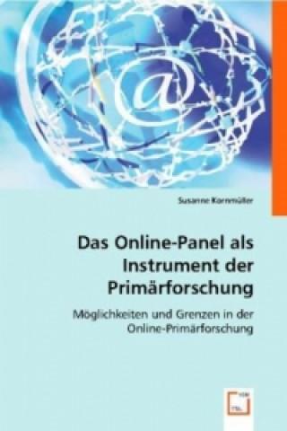 Das Online-Panel als Instrument der Primärforschung