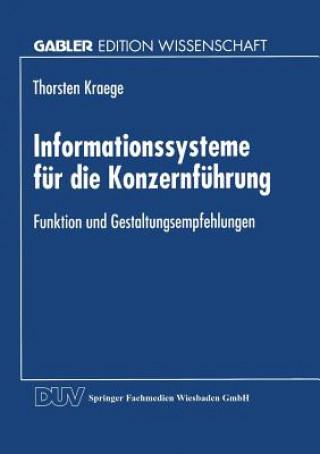 Informationssysteme F r Die Konzernf hrung