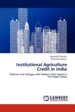 Institutional Agriculture Credit in India